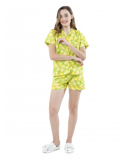 lemon green short pants
