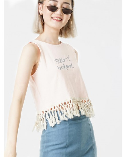 yumina crop top