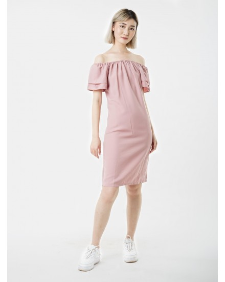 gweny baby pink dress