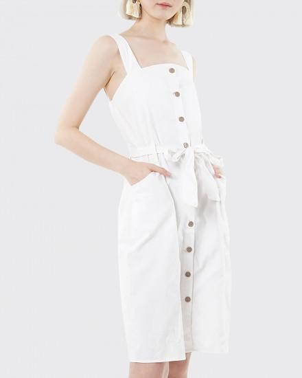 jole white dress