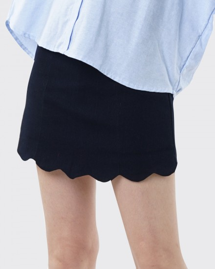 alizka navy skirt