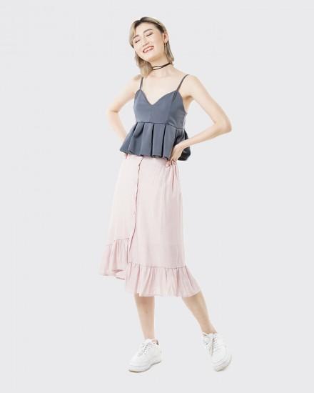 asteria peach skirt