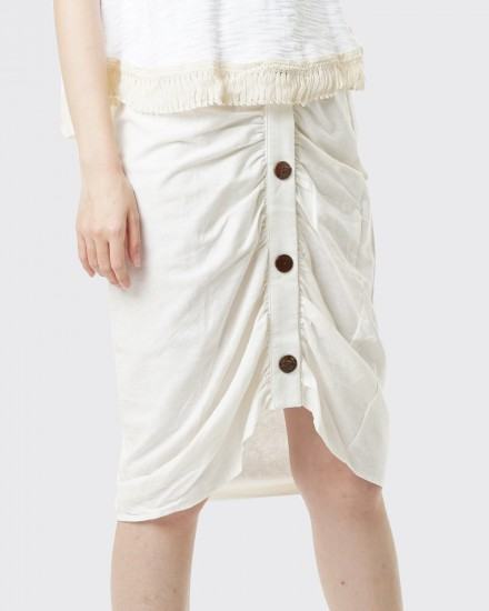 Ellera button off white
