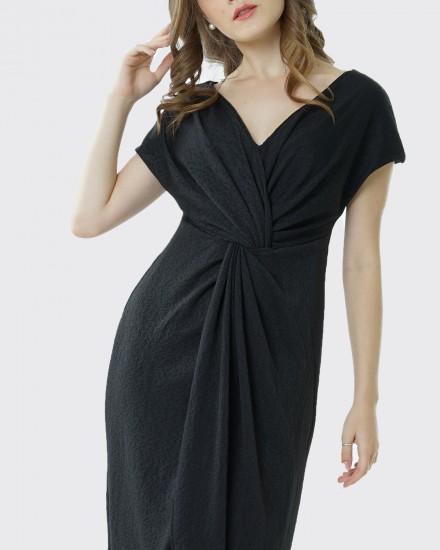 Squishy dress black