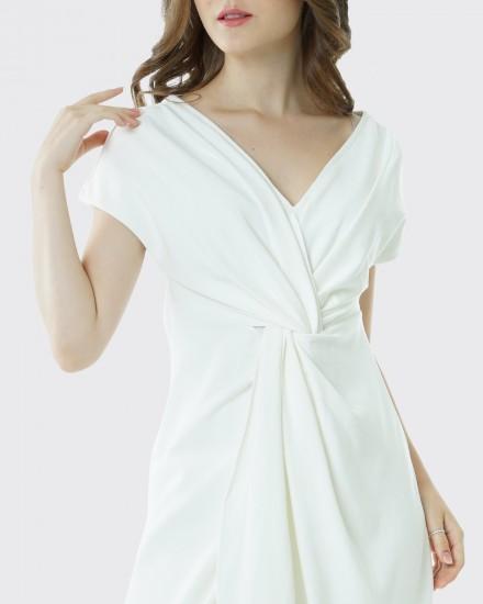Squishy dress white