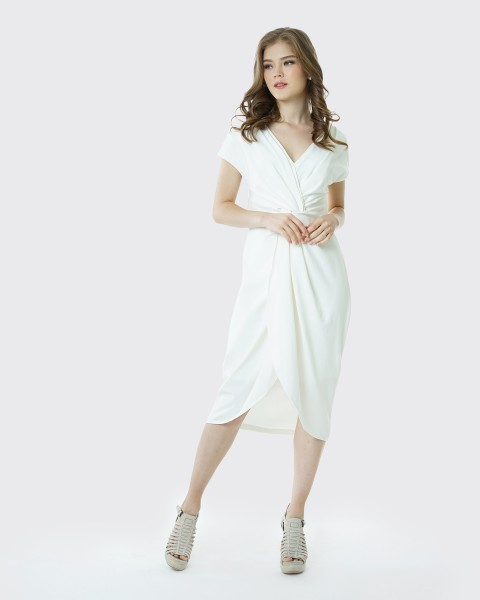 Squishy dress white