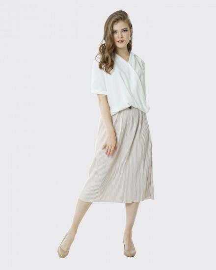 Swirl shirt white