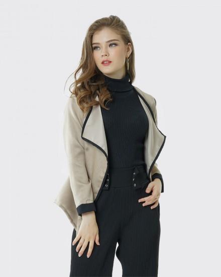 posey cream blazer