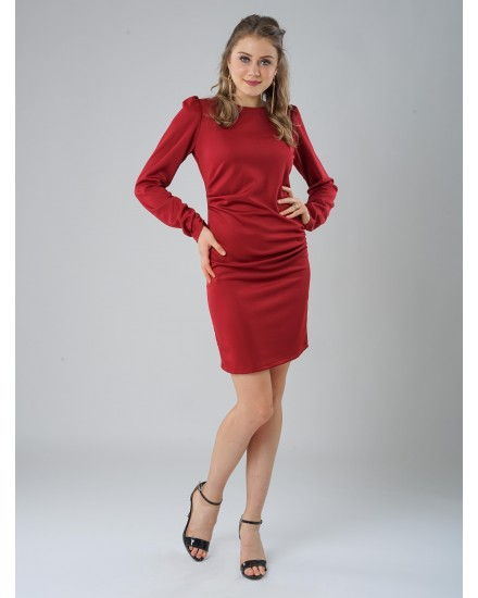 illona red dress