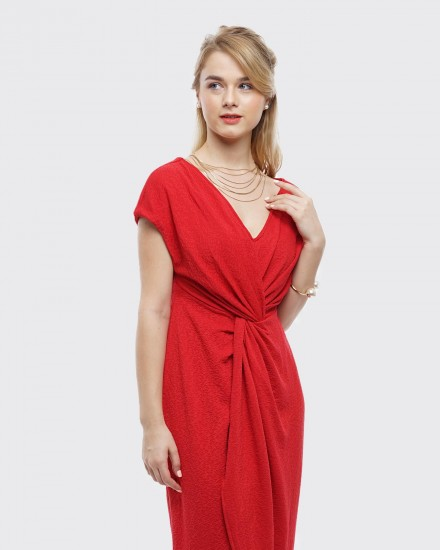 Squishy dress red