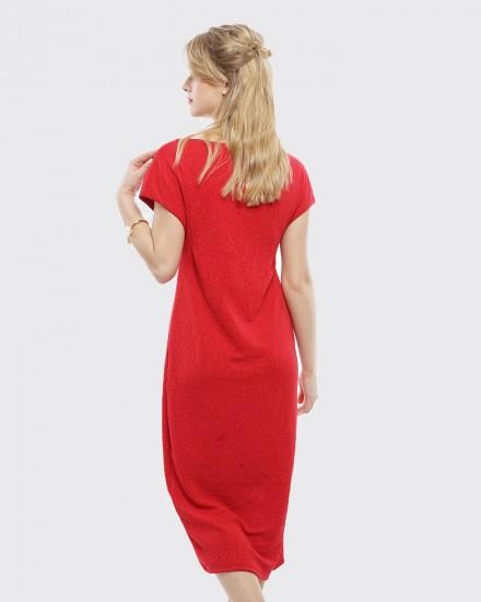 Squishy dress red