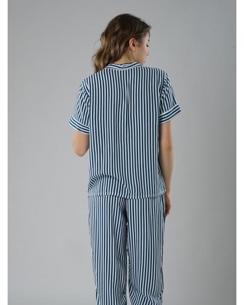 Pin Stripe Long Pants