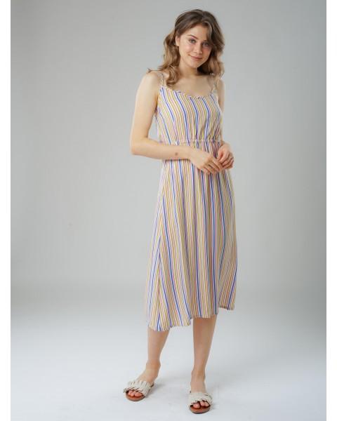 Chalk stripe dress