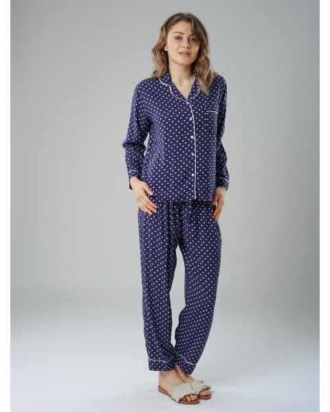 emma blue pajamas