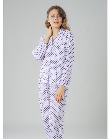emma purple pajamas