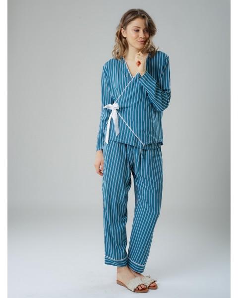 Kimono green pajamas