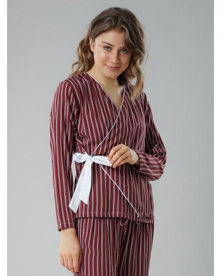 Kimono red pajamas
