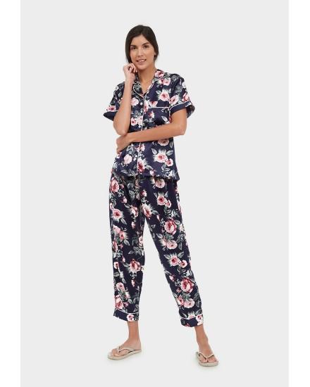 rosa navy pants