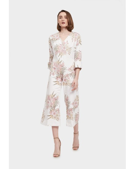 Ziraa flower jumpsuit