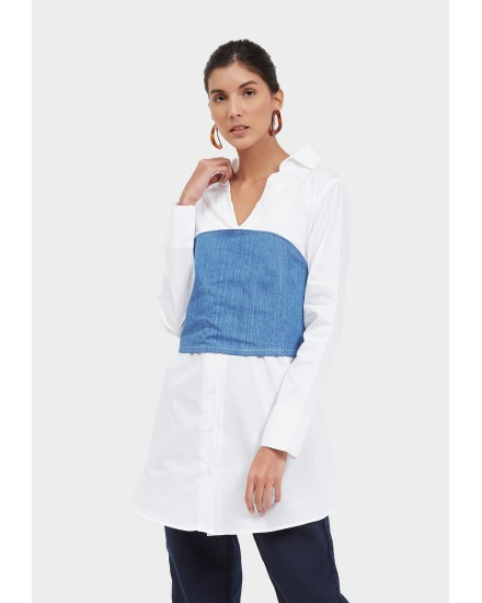 brinka corset long shirt