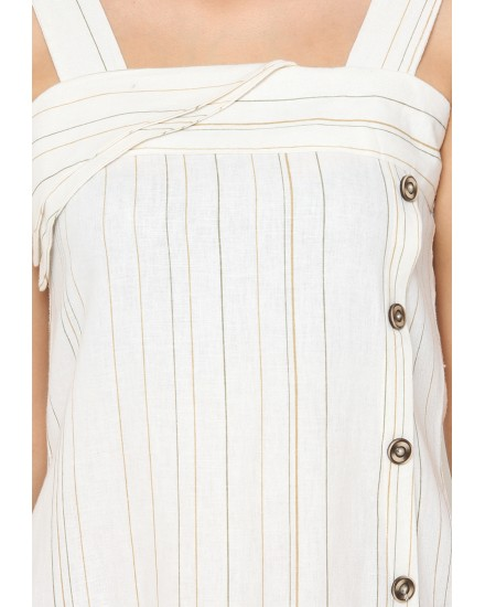 aesa button up dress