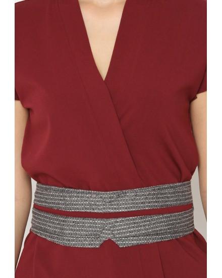 raya kimono red