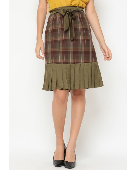 florence ruffle skirt