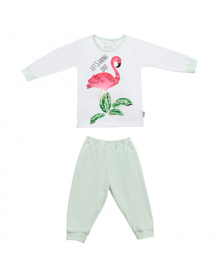 baju anak flamingo