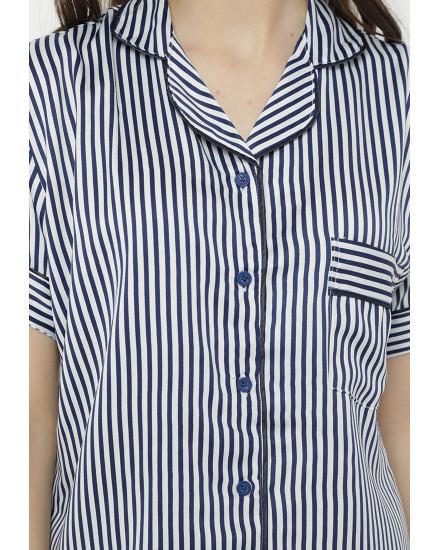 Candy stripe navy