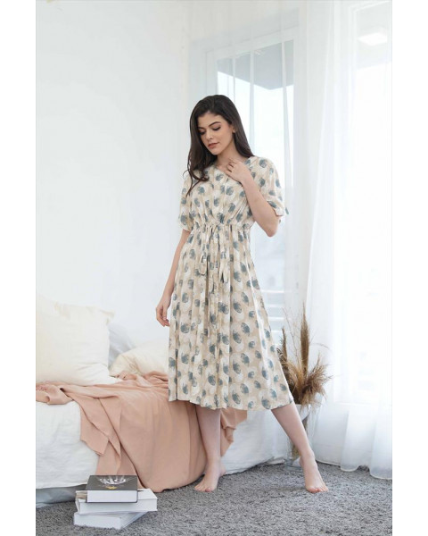 Misun Brown Dress