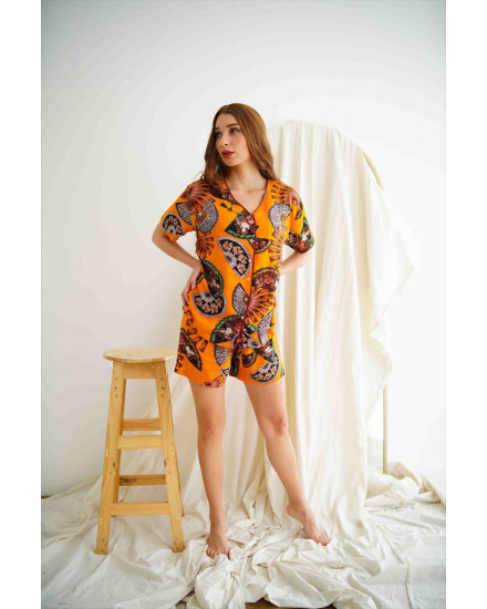 Micha Orange Short