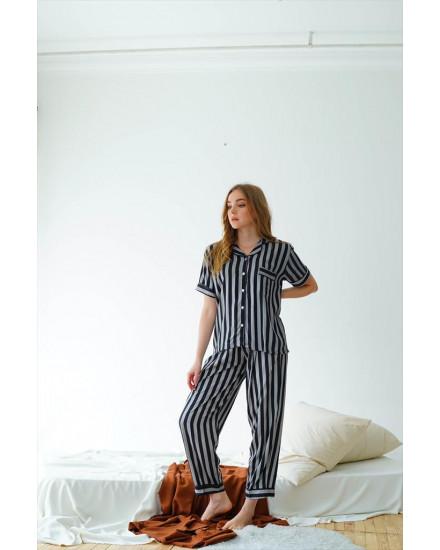 Piyama Isabel Stripe Woman