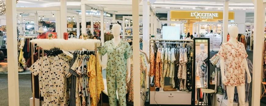 Just Sleepwear Pop Up Booth at Lippo Mall Kemang