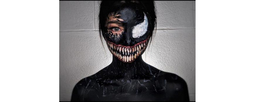 Inspirasi Makeup Halloween dari Selebgram yang Bikin Merinding!