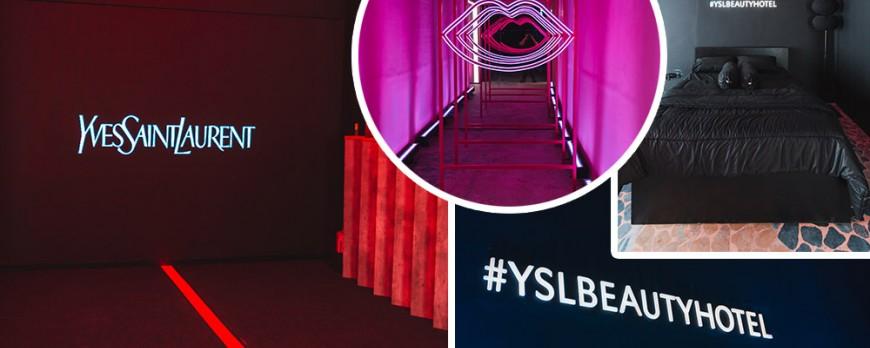 YSL Beauty Hotel, Event dengan Konsep Instalasi Hotel Kecantikan yang Instagramable