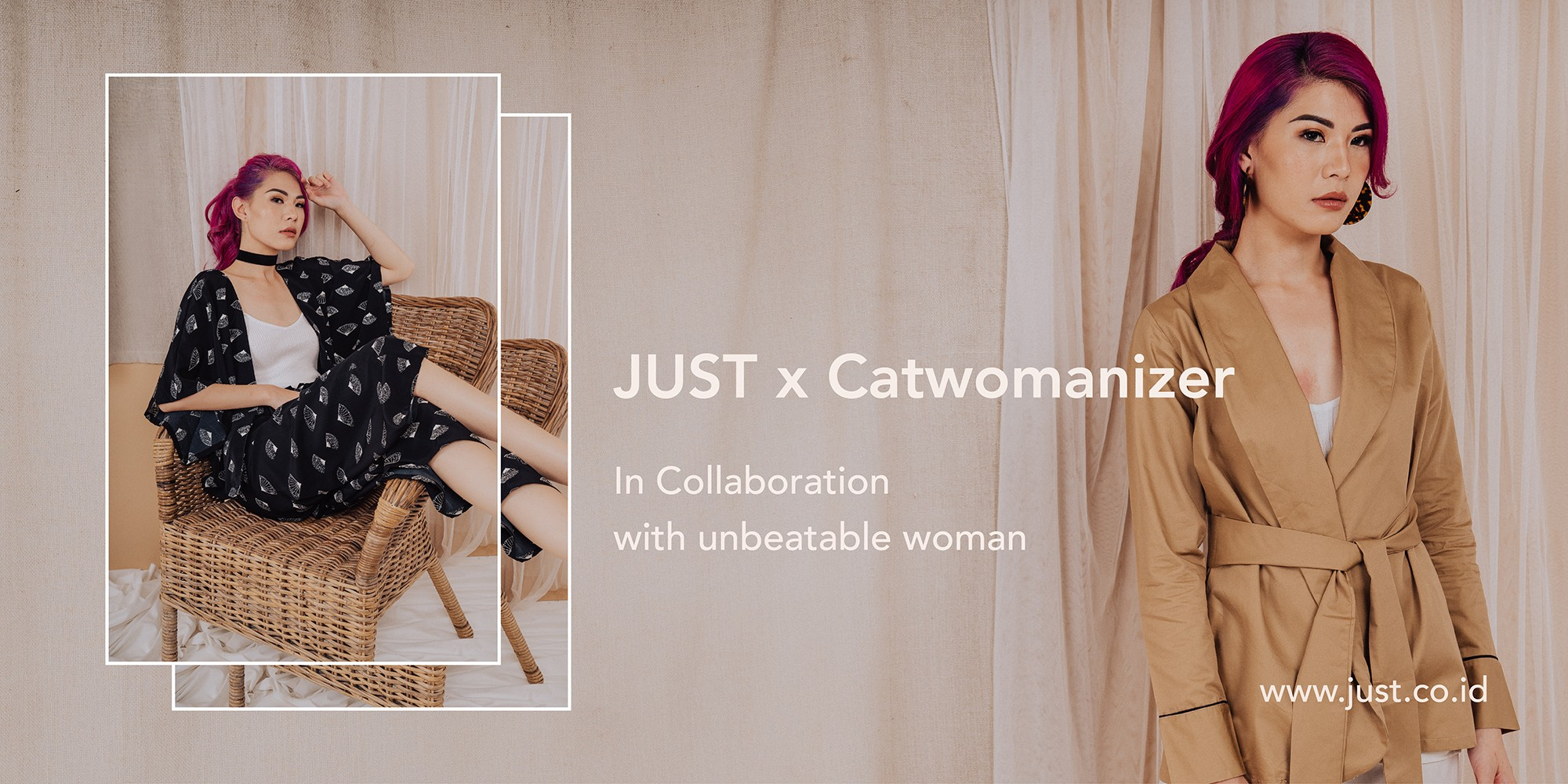 JUST x Catwomanizer